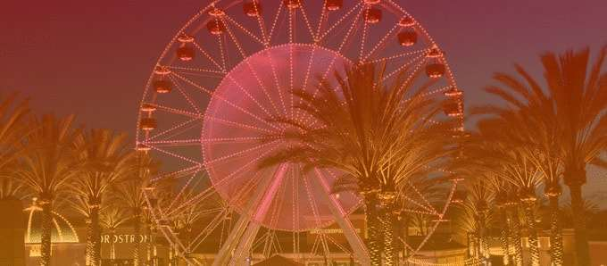 Giant Wheel at Irvine Spectrum