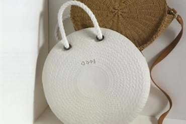 Obag twist, their take on the classic straw bag