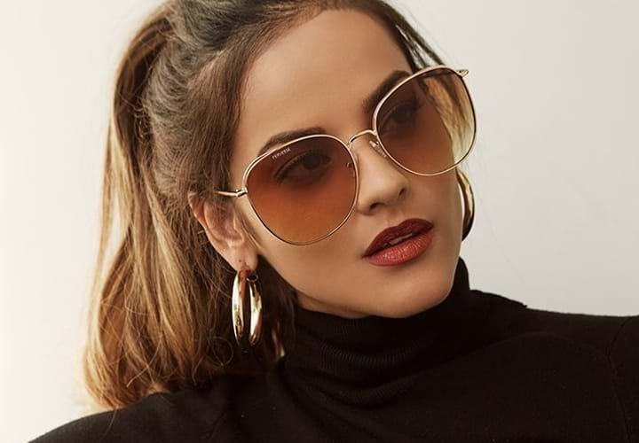 Women wearing Thomas James LA sunglasses from Fall 2018 collection