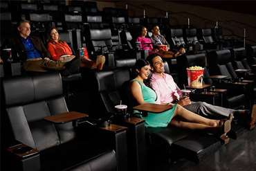 Recliner seats at Regal theater