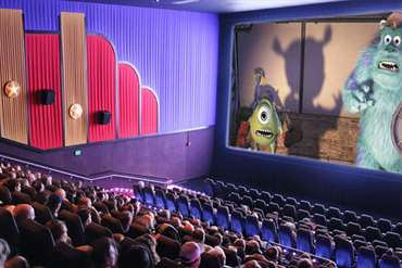 Private movie screenings available
