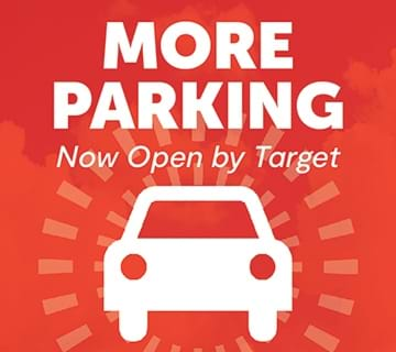 More parking now open by Target