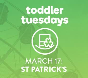 Toddler Tuesday, March 17, 10AM - Noon