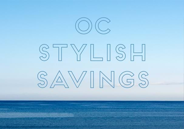 OC Stylish Savings at Irvine Spectrum Center