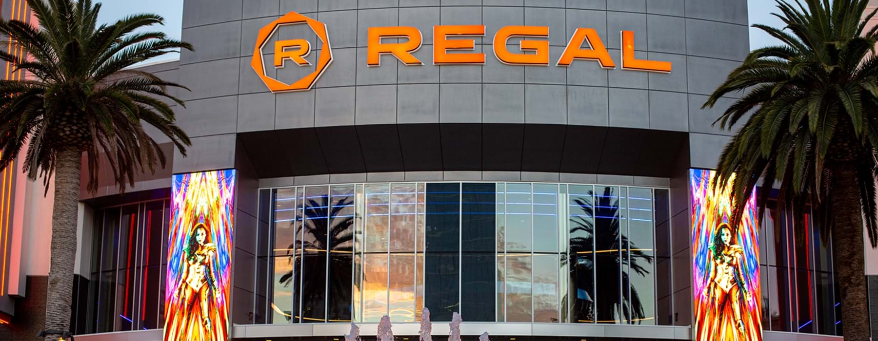 Regal movie theater at Irvine Spectrum Center